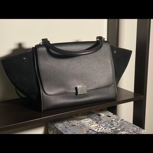 Authentic Celine Medium Trapeze Bag